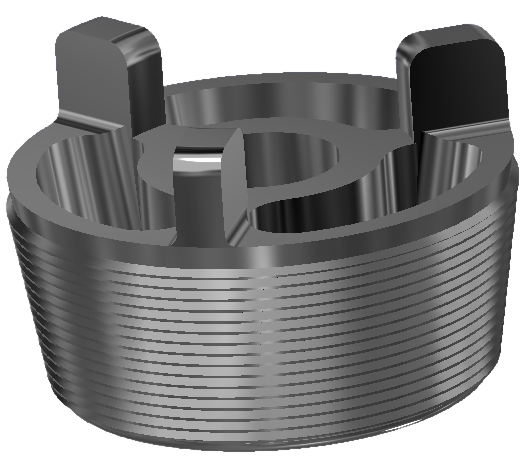 aluminum addition plug